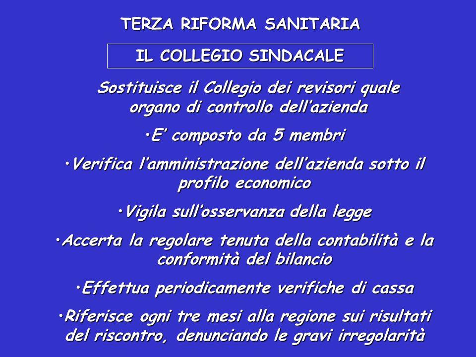 TERZA RIFORMA SANITARIA LA REGIONE HA LA RESPONSABILITA' DI STABILIRE I CRITERI GENERALI DI VALUTAZIONE DELL'OPERATO DEI D.G. Il DG deve essere period