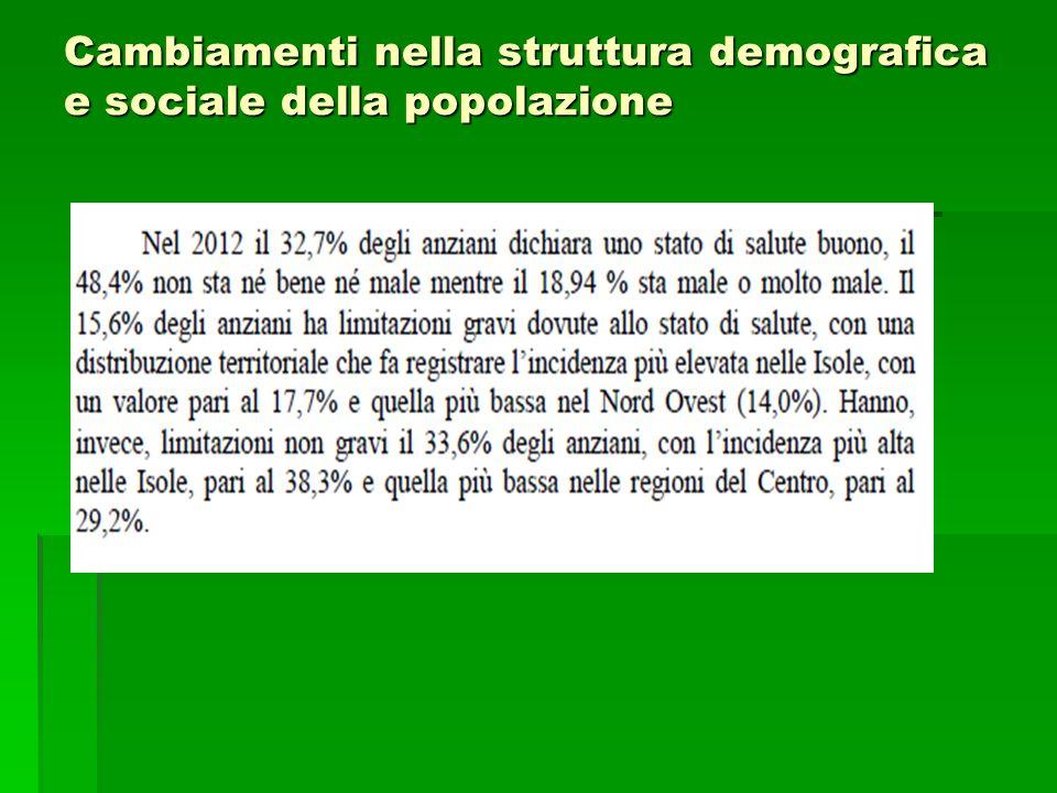 La doppia distorsione del welfare italiano  Distorsione funzionale (oltre il 60% della spesa sociale è assorbito dalle funzioni vecchiaia e superstiti )  Distorsione distributiva (c'è un netto divario di accesso alle prestazioni e di loro generosità tra le diverse categorie occupazionali)