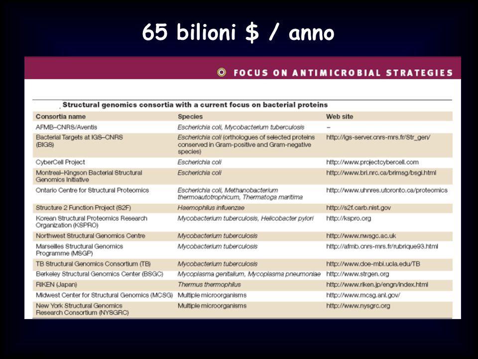Simit 11/2008 65 bilioni $ / anno