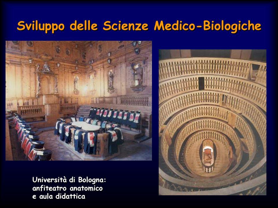 Simit 11/2008 Sviluppo delle Scienze Medico-Biologiche Università di Bologna: anfiteatro anatomico e aula didattica Università di Bologna: anfiteatro