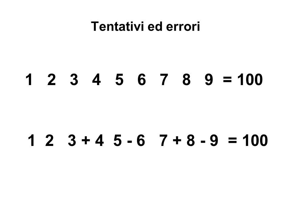 La soluzione di un problema comporta i seguenti stadi: a)La comprensione del problema b)L'identificazione delle operazioni che possono portare alla soluzione del problema c)L'esecuzione delle operazioni d)Il controllo dei risultati (anche quelli parziali) e)Il ritorno a passaggi precedenti nel caso in cui i risultati ottenuti non corrispondano al fine desiderato.