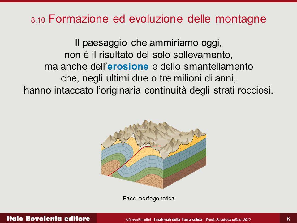 Alfonso Bosellini – I materiali della Terra solida - © Italo Bovolenta editore 2012 6 Il paesaggio che ammiriamo oggi, non è il risultato del solo sol