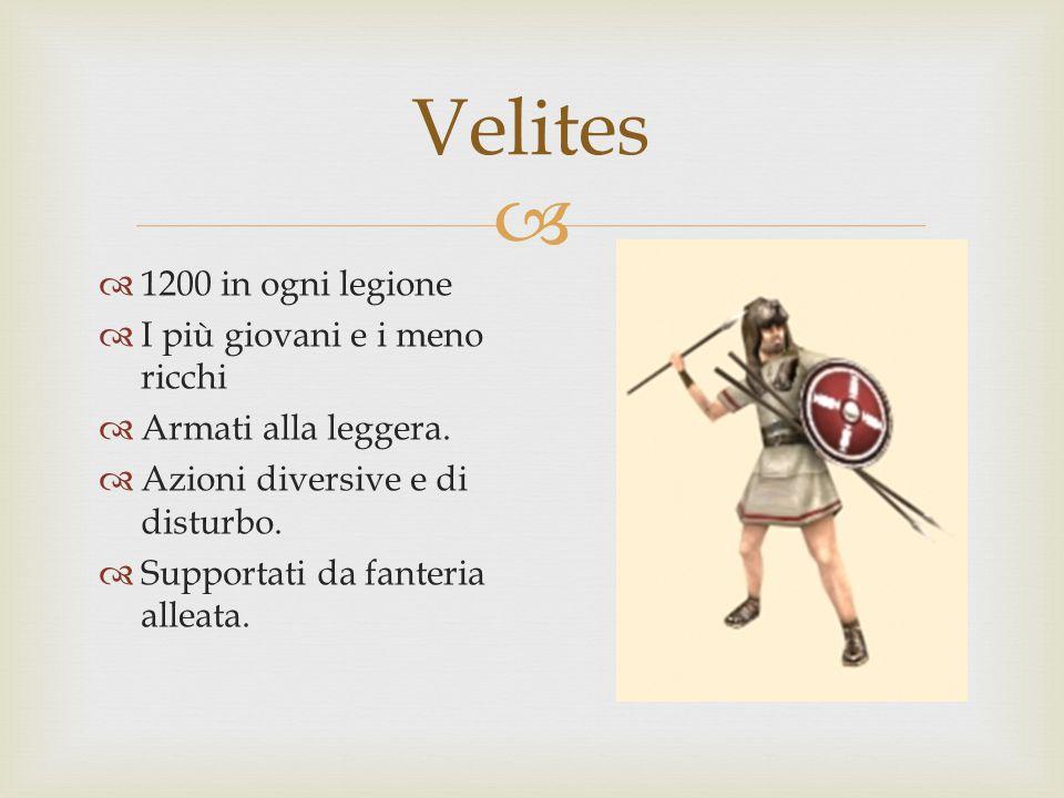  Hastati  1200 per legione. Erano la prima linea dell'esercito.