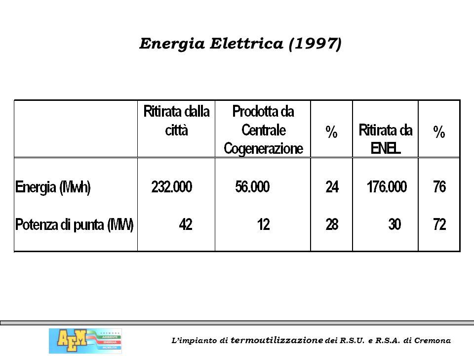 L'impianto di termoutilizzazione dei R.S.U. e R.S.A. di Cremona Energia Elettrica (1997)