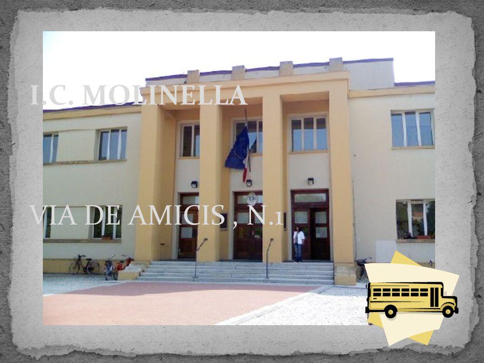 VIA DE AMICIS, N.1 I.C. MOLINELLA