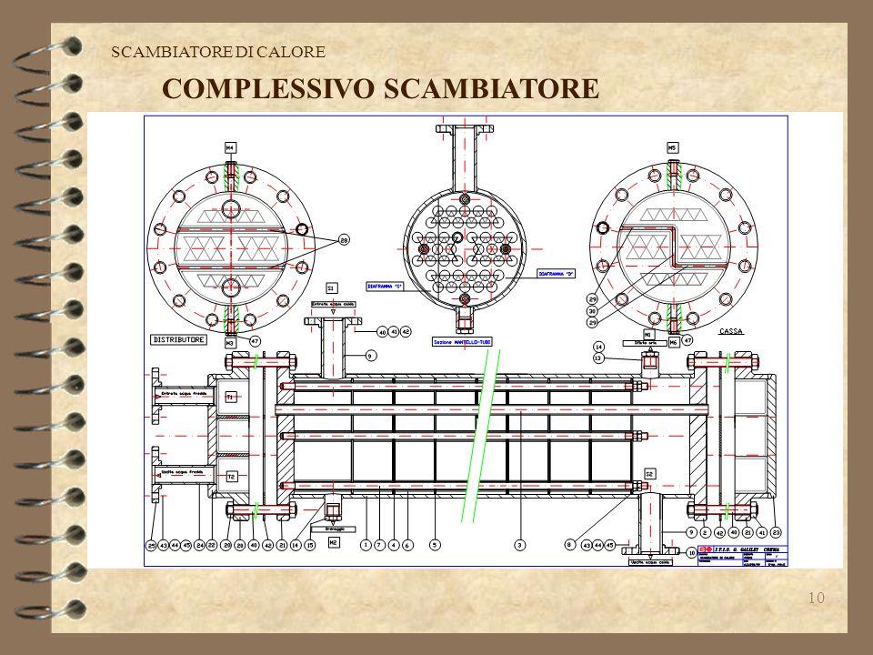 10 SCAMBIATORE DI CALORE COMPLESSIVO SCAMBIATORE