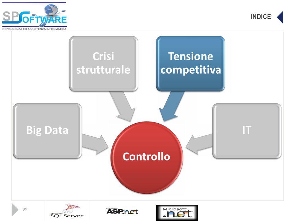 INDICE CrisiTensione strutturalecompetitiva Big DataIT Controllo 22