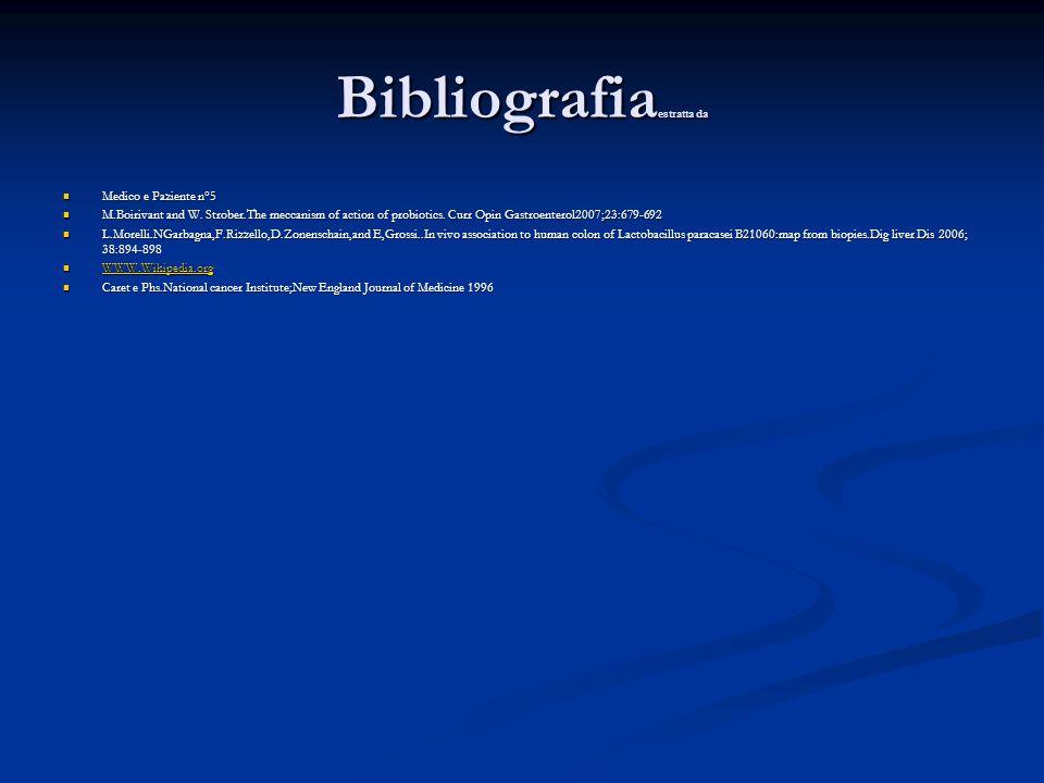 Bibliografia estratta da Medico e Paziente n°5 Medico e Paziente n°5 M.Boirivant and W.