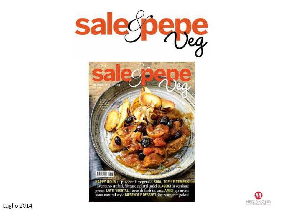 Sale&Pepe Veg Dopo il successo della prima edizione torna Sale&Pepe Veg, lo spin off di Sale&Pepe completamente dedicato alla cucina vegetariana e vegana in edicola il 15 ottobre.