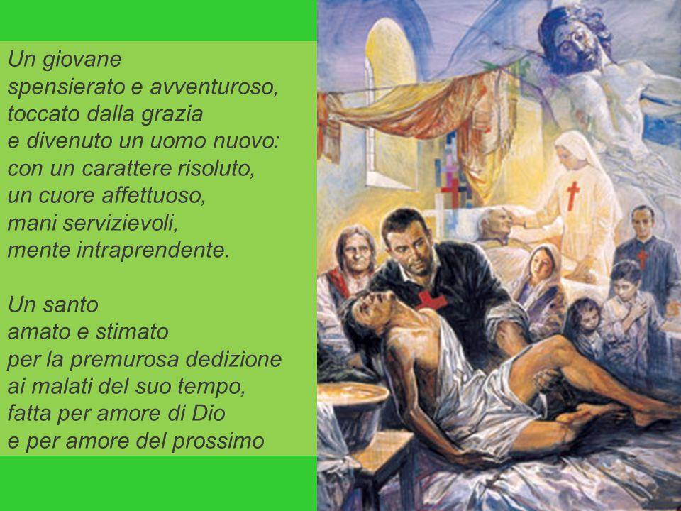 Infatti, furono scritte seicento anni fa da Camillo de Lellis, un militare abruzzese vissuto nel 1500, convertito a Dio, divenuto prima infermiere, po