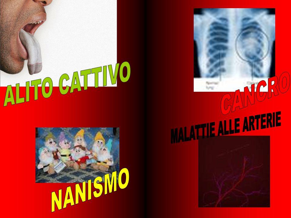 LE SOSTANZE TOSSICHE CONTENUTE NEL FUMO PRODUCONO MALATTIE GRAVI
