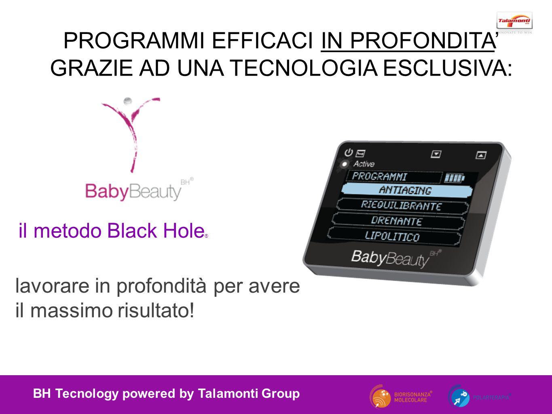 il metodo Black Hole ® BH Tecnology powered by Talamonti Group lavorare in profondità per avere il massimo risultato.