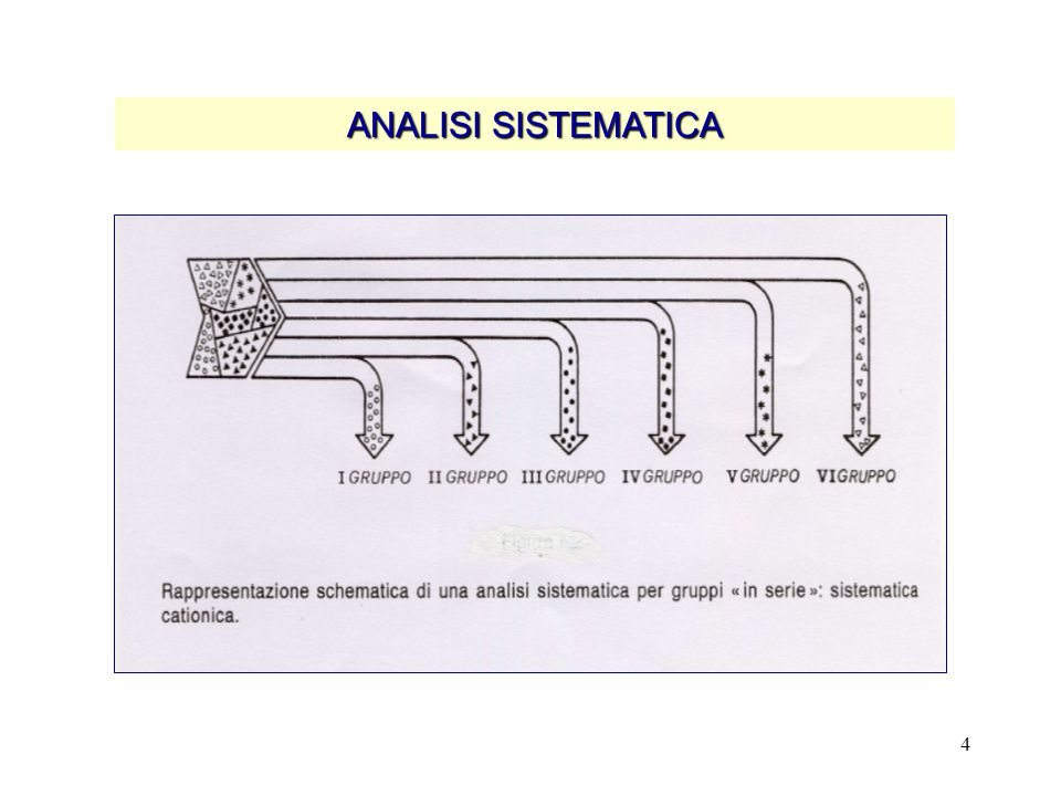 4 ANALISI SISTEMATICA