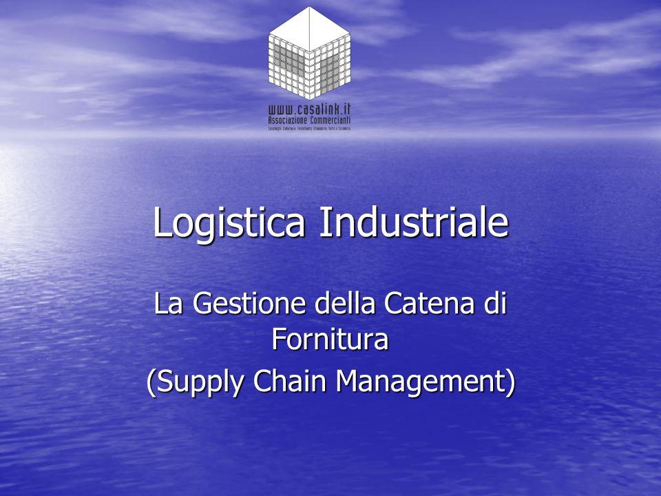 La natura e l'importanza della logistica E' chiaro che senza l'attenta gestione di questo flusso non può esserci profitto.