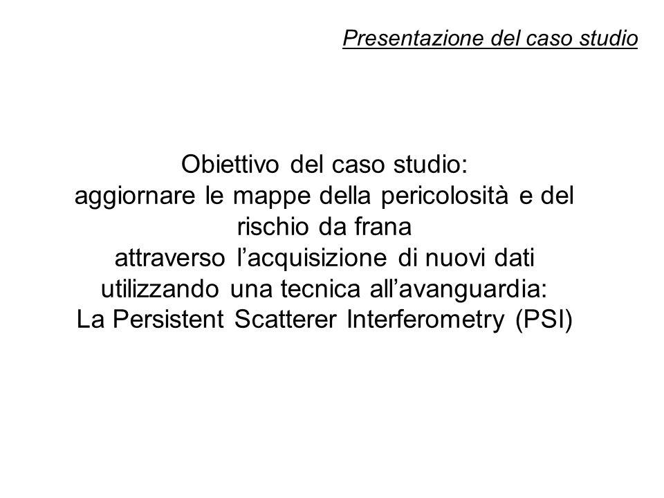 Descrizione dell'area di studio Bacino del fiume Arno (Toscana): -9.130 km 2 (78% di natura collinare e montuosa); - 27.000 frane mappate in scala 1:10.000 (800 km 2, di cui 74% sono movimenti rotazionali lenti.