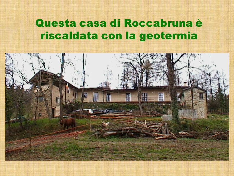 Questa casa di Roccabruna è riscaldata con la geotermia