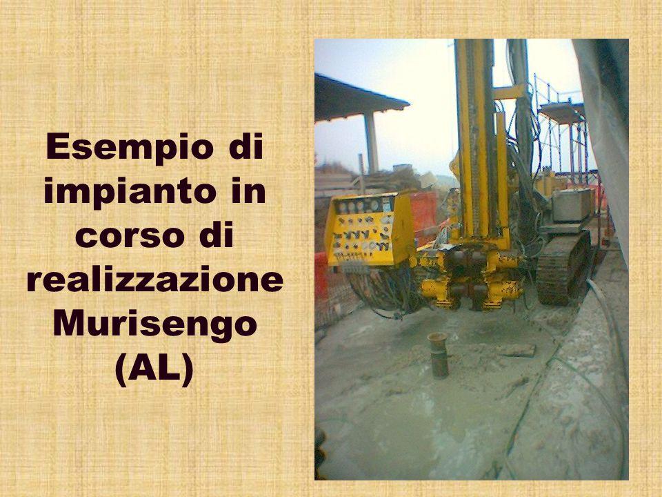 Esempio di impianto in corso di realizzazione Murisengo (AL)