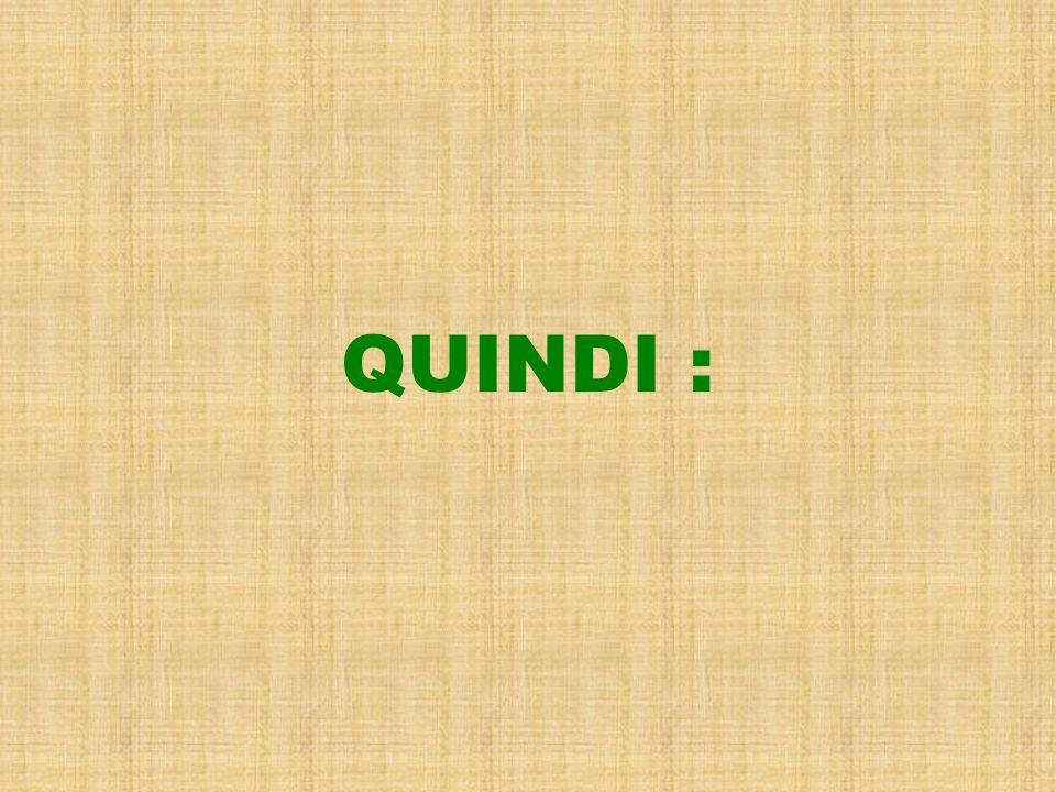 QUINDI :