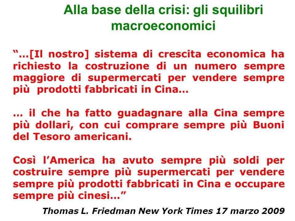"""""""…[Il nostro] sistema di crescita economica ha richiesto la costruzione di un numero sempre maggiore di supermercati per vendere sempre più prodotti f"""