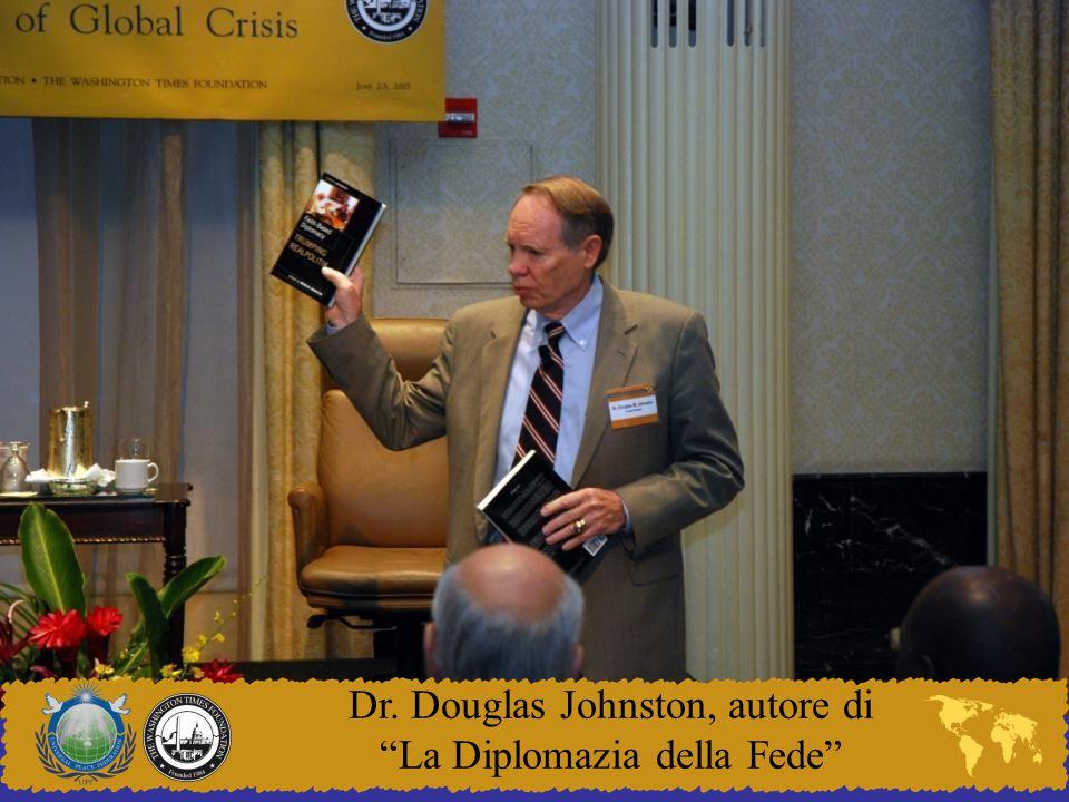 Dr. Douglas Johnston, autore di La Diplomazia della Fede