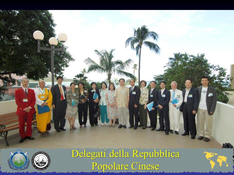 Delegati della Repubblica Popolare Cinese