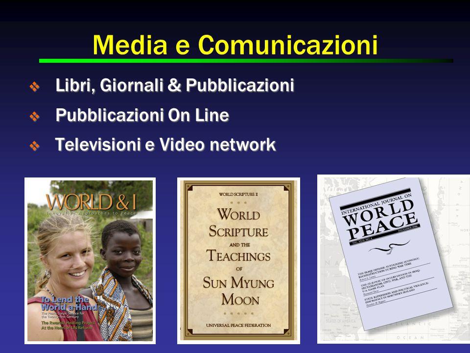 Media e Comunicazioni  Libri, Giornali & Pubblicazioni  Pubblicazioni On Line  Televisioni e Video network