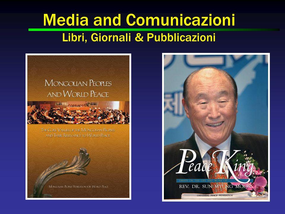 Media and Comunicazioni Libri, Giornali & Pubblicazioni