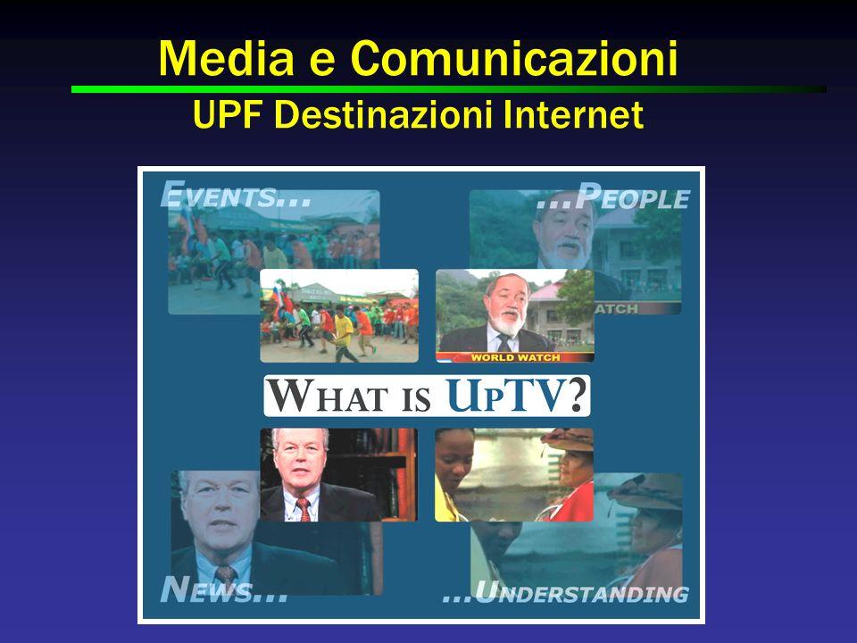 Media e Comunicazioni UPF Destinazioni Internet