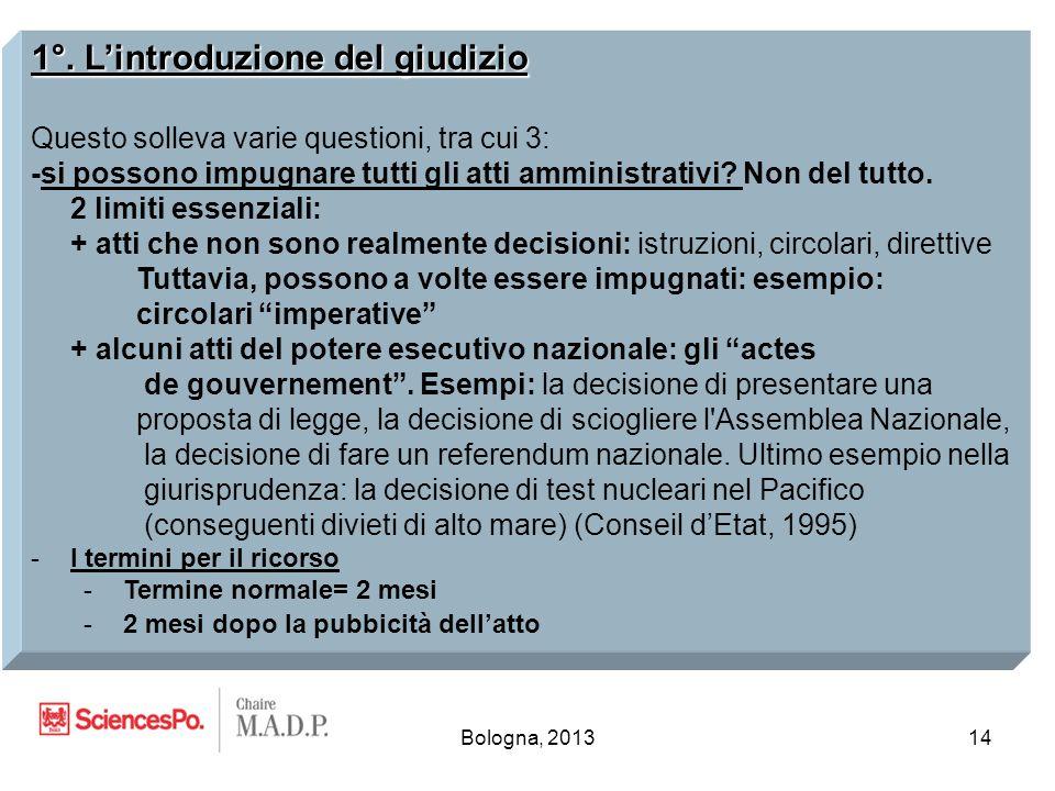 Bologna, 201314 1°.