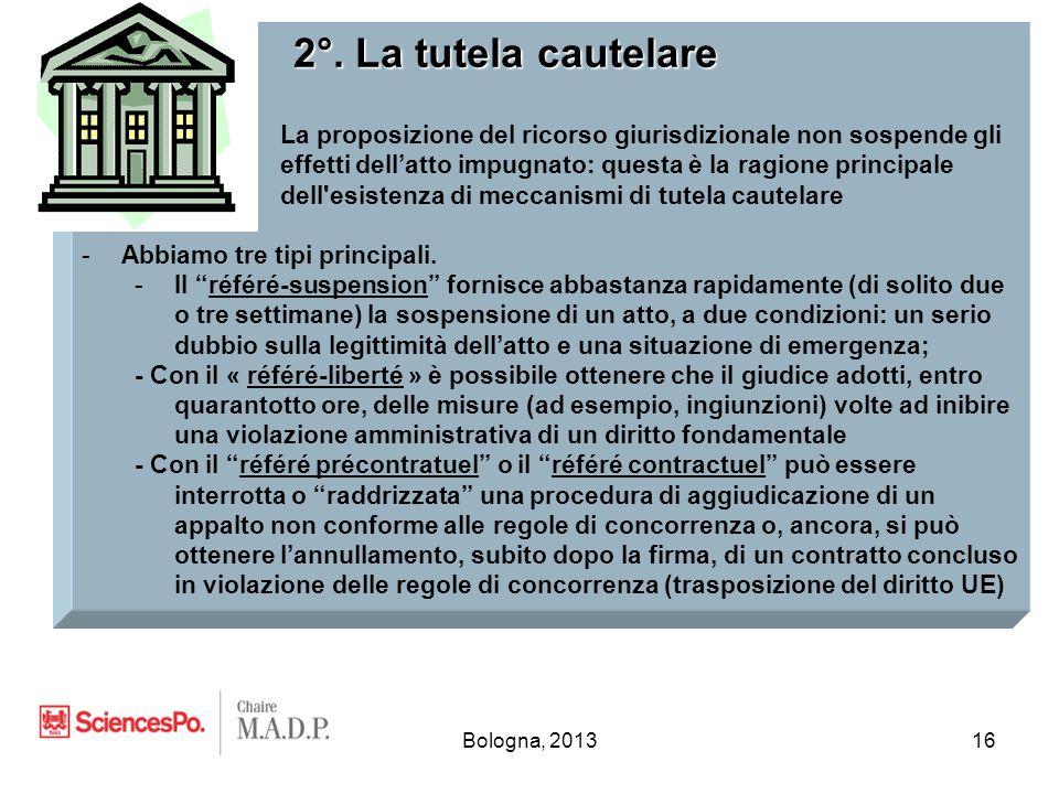 Bologna, 201316 2°.