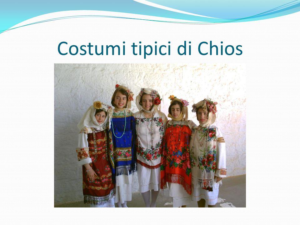 Costumi tipici di Chios