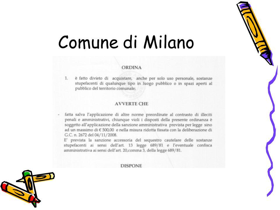 Non uso personale Reclusione da 6a – 20a Multa da 26.000 euro a 260.000 euro