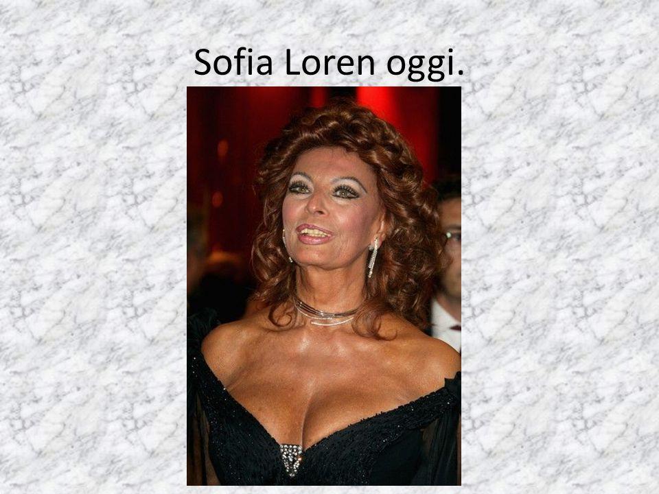 Sofia Loren oggi.