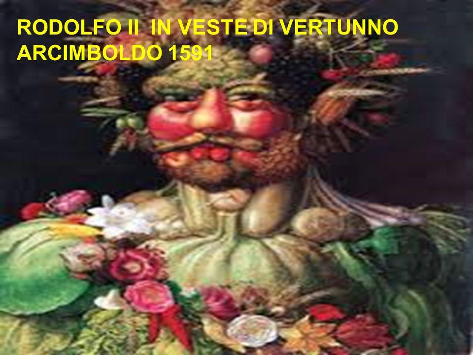RODOLFO II IN VESTE DI VERTUNNO ARCIMBOLDO 1591