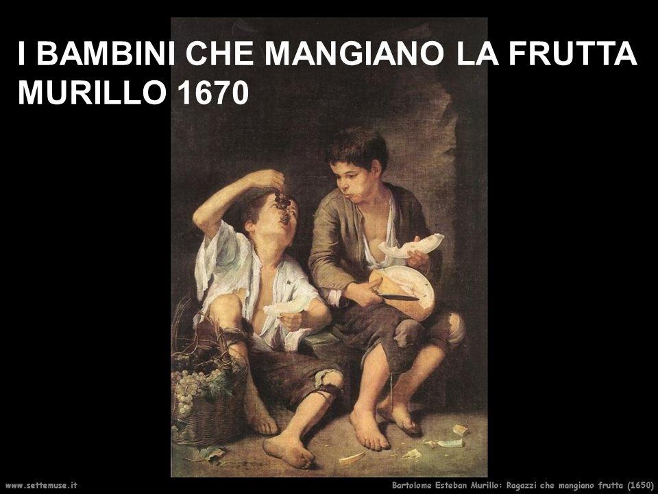 I BAMBINI CHE MANGIANO LA FRUTTA MURILLO 1670