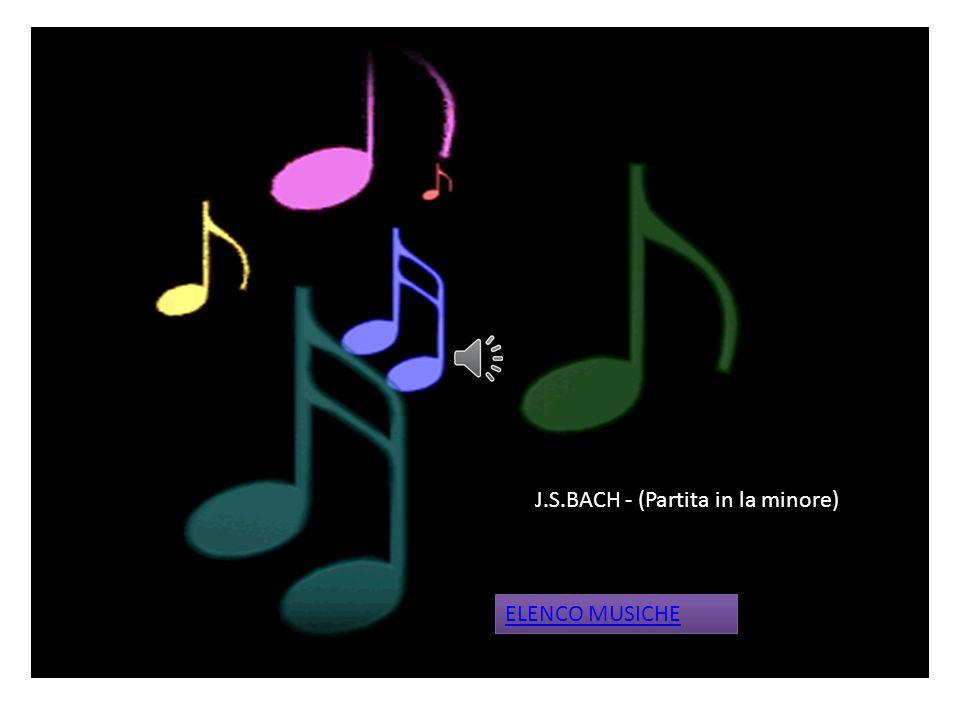 J.S.Bach –( Guglielmo tell – Finale) ELENCO MUSICHE