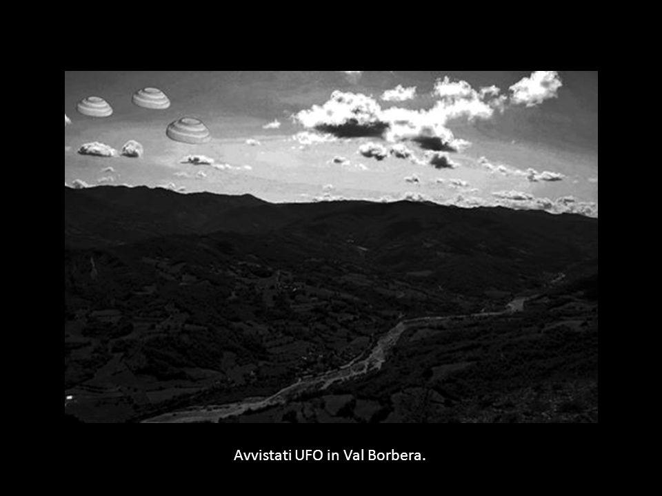 Avvistati UFO in Val Borbera.