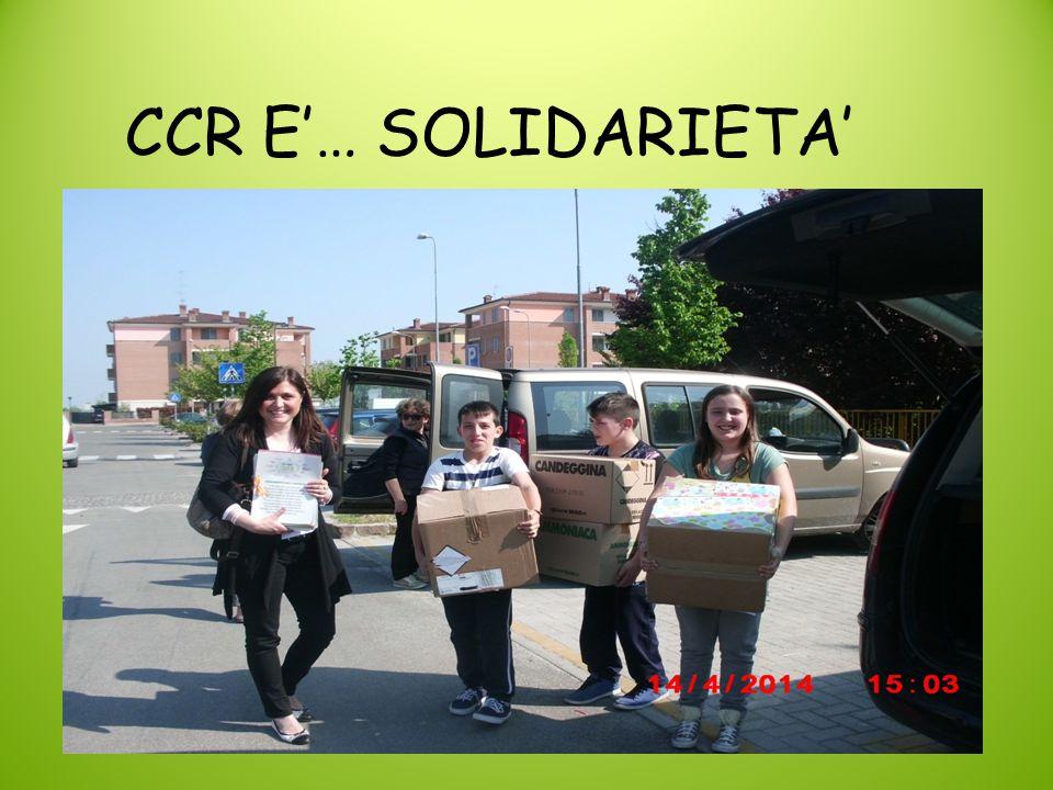 CCR E'… SOLIDARIETA'