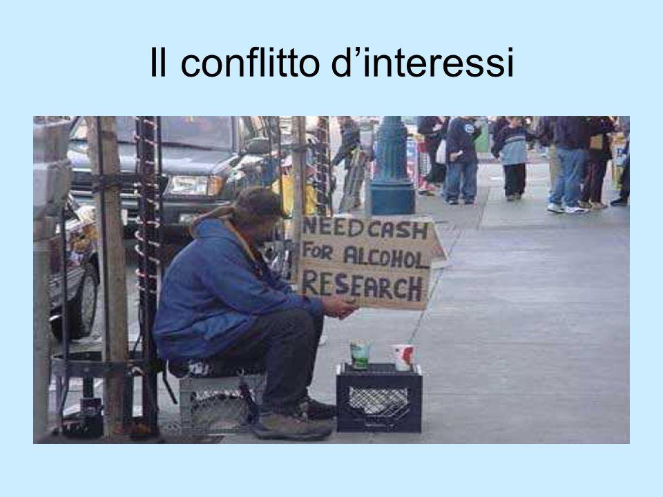 Il conflitto d'interessi