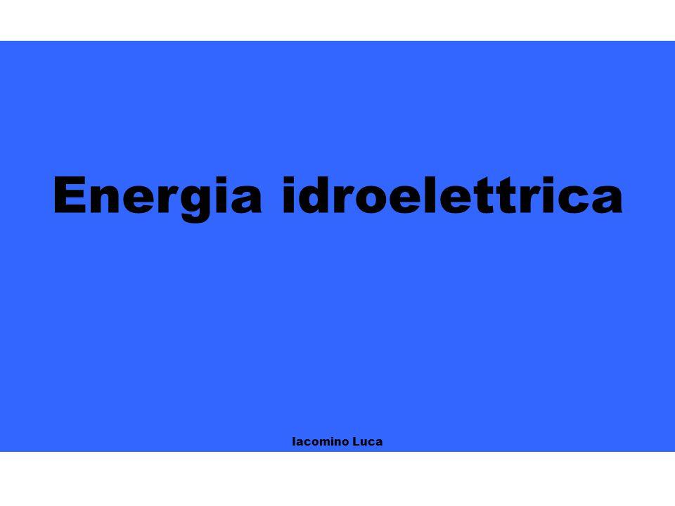 Energia idroelettrica Iacomino Luca