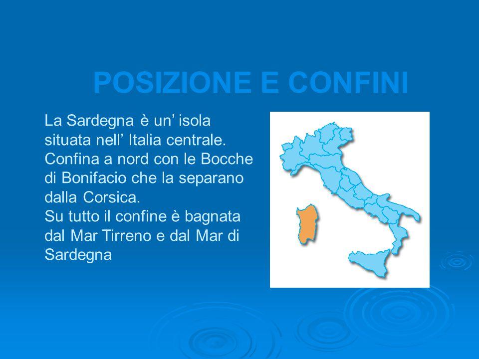 La Sardegna è un' isola situata nell' Italia centrale.