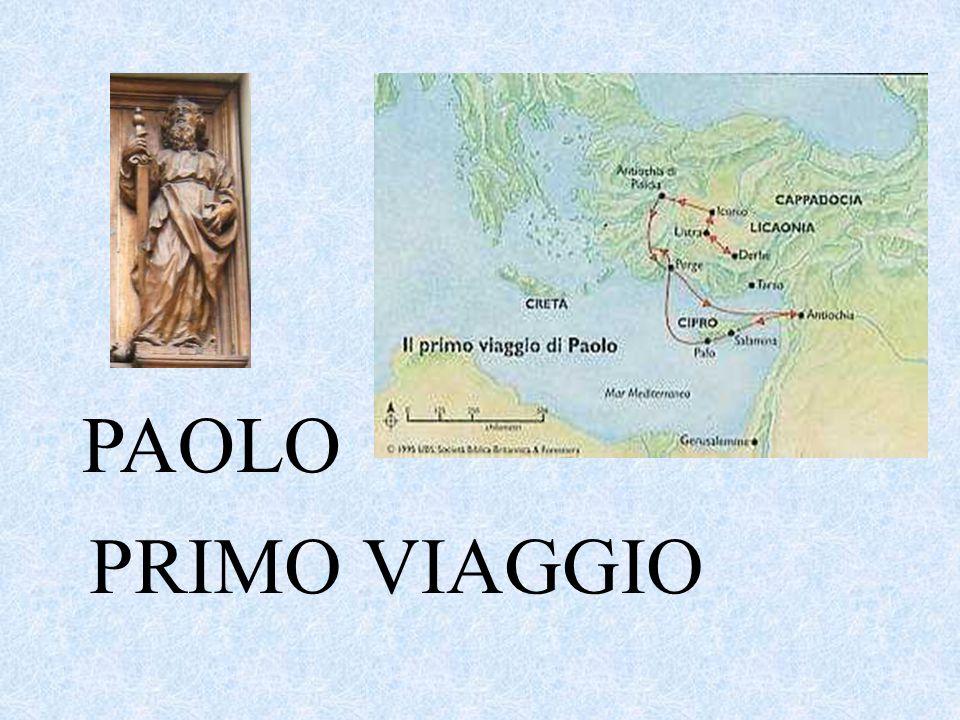 PRIMO VIAGGIO PAOLO