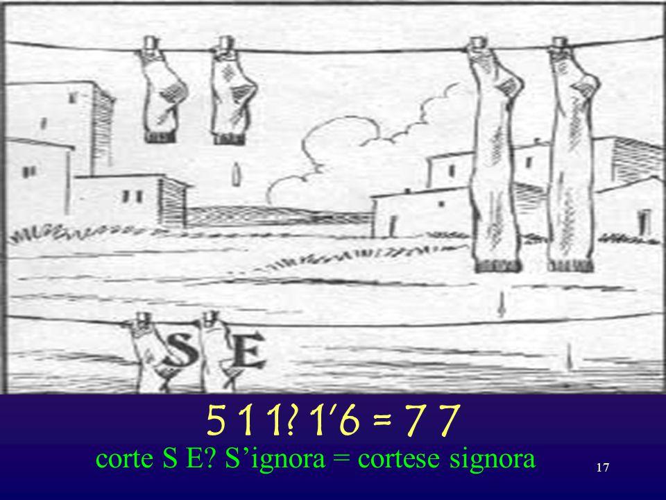 16 3 7 = 5 5 avi degenti = avide genti