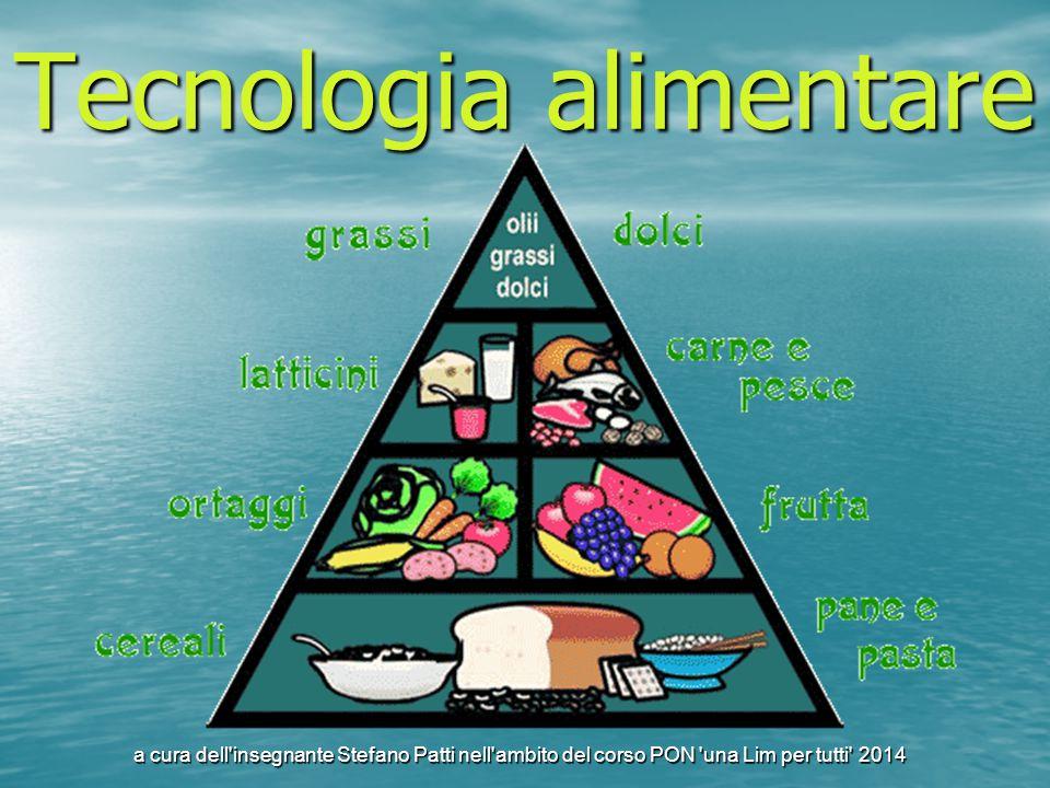Tecnologia alimentare a cura dell'insegnante Stefano Patti nell'ambito del corso PON 'una Lim per tutti' 2014