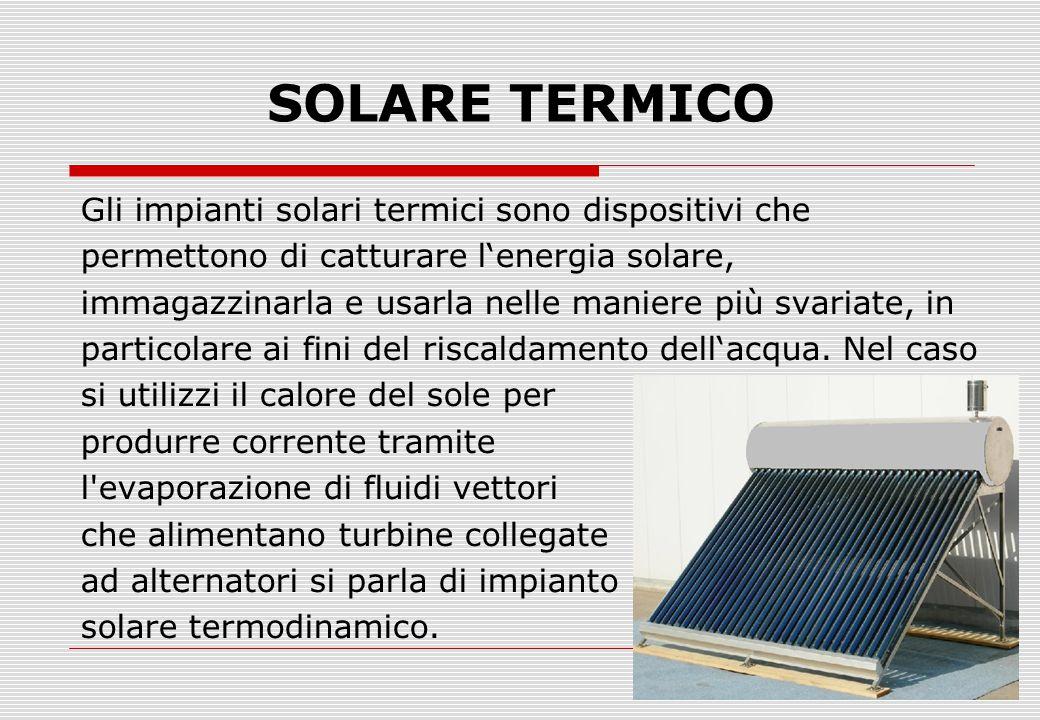 La generazione di energia elettrica in impianti fotovoltaici con l'impiego di celle solari sfrutta l'effetto fotovoltaico basato sulle proprietà di alcuni materiali semiconduttori.