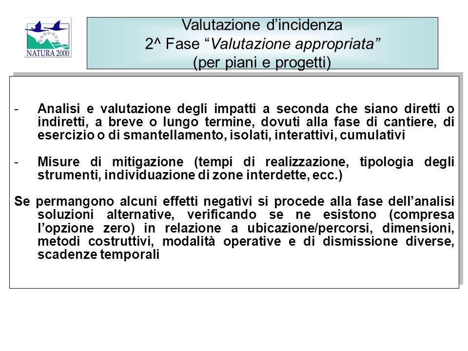 Le Linee Guida per la Valutazione di Incidenza – DGR 64/2010 BURL n.