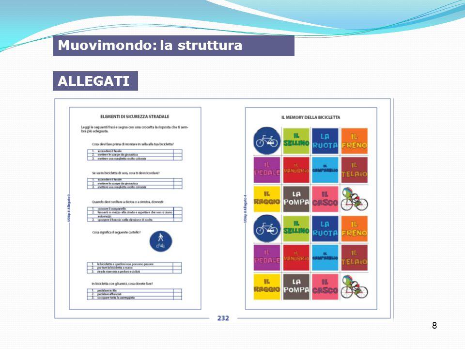 8 Muovimondo: la struttura ALLEGATI