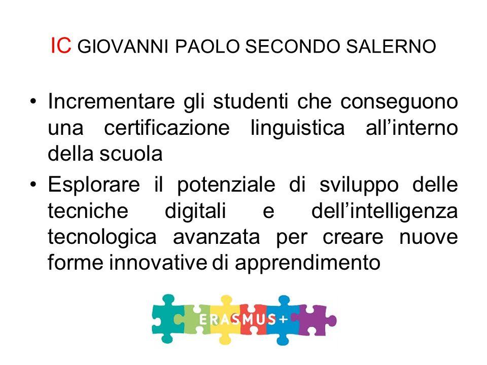 Incrementare gli studenti che conseguono una certificazione linguistica all'interno della scuola Esplorare il potenziale di sviluppo delle tecniche di