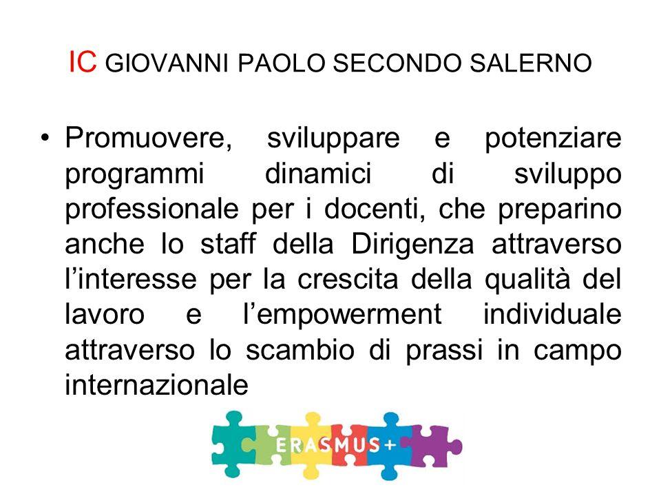 Promuovere, sviluppare e potenziare programmi dinamici di sviluppo professionale per i docenti, che preparino anche lo staff della Dirigenza attravers