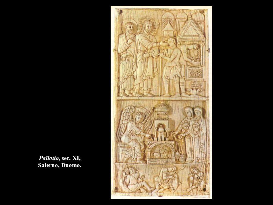 Paliotto, sec. XI, Salerno, Duomo.